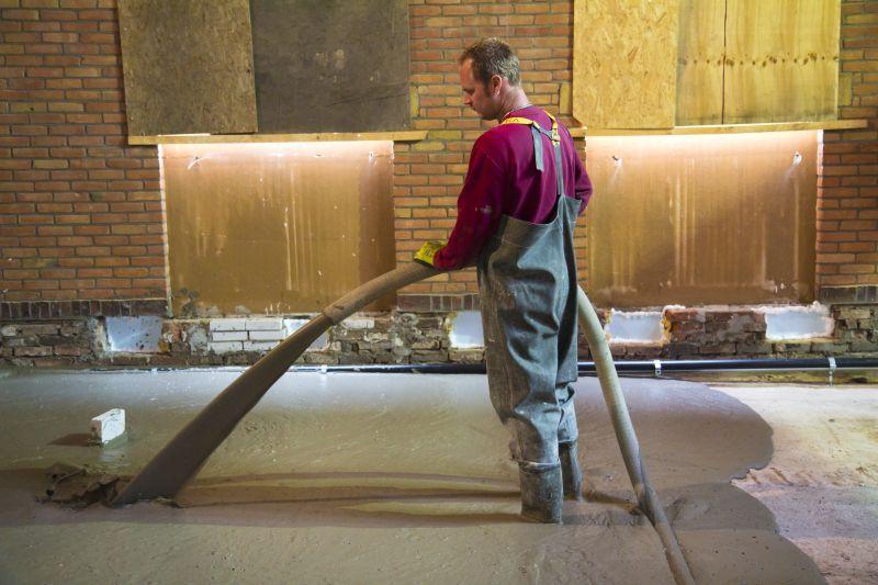 it betterskip eastermar nieuwe betonvloer storten